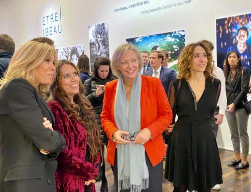 3 décembre 2019, inauguration de l'exposition Etre Beau et conseil interministériel du handicap