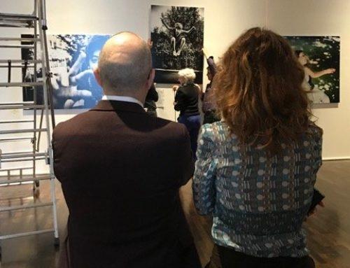 3 décembre, inauguration de l'expo Etre Beau avec le conseil interministériel du handicap