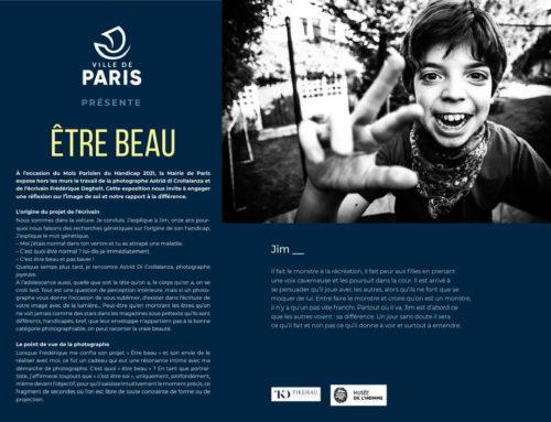A partir du 3 juin 2021, la Mairie de Paris expose Etre Beau, Tour Saint Jacques